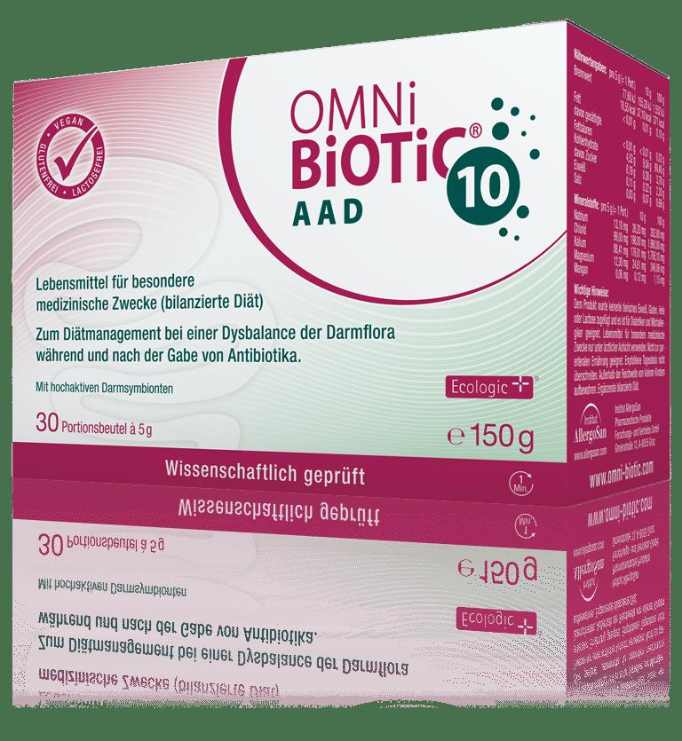 OMNi-BiOTiC® 10 AAD: Das Probiotikum zum Antibiotikum