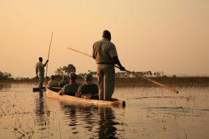 Botswana Fluss
