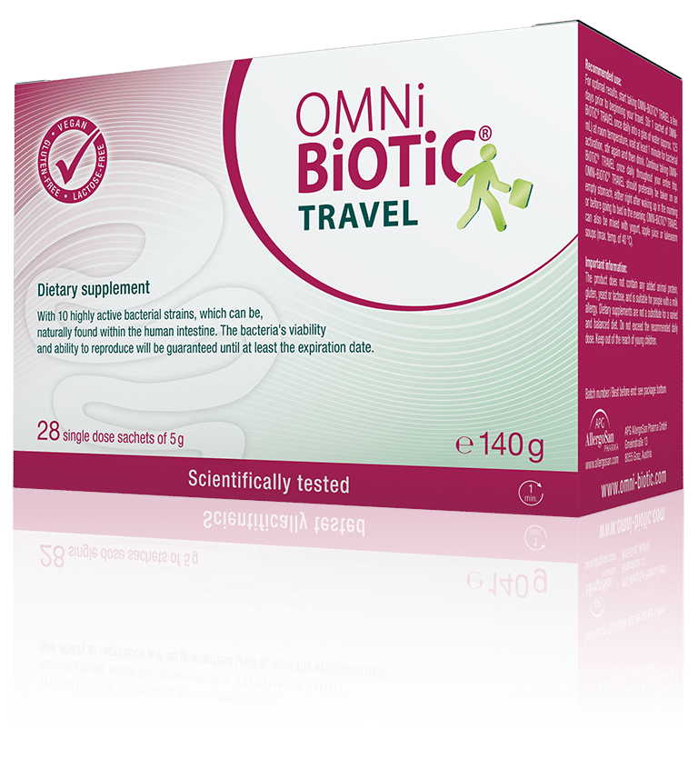 OMNi-BiOTiC® TRAVEL For each day of travelling