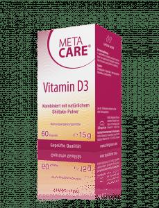 META-CARE® Vitamin D3 Sonnenenergie für das Immunsystem
