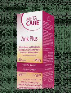 META-CARE® Zink Plus Gepflegtes Hautbild