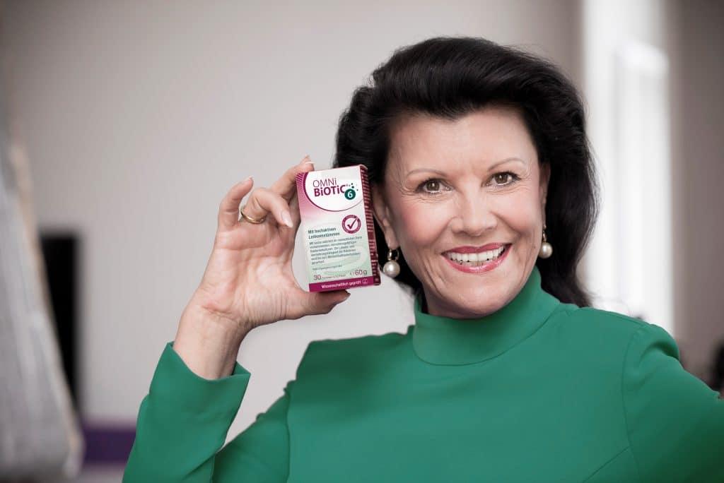 Darmexpertin Mag. Anita Frauwallner entwickelte vor 25 Jahren das erste Multispezies-Probiotikum: OMNi-BiOTiC® 6